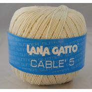 Butika.hu hobby webáruház - Lana Gatto - Cable5 kötő/horgoló fonal, egyiptomi pamut, 50g, 6576