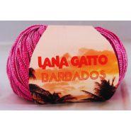Butika.hu hobby webáruház - Kötő és horgoló fonal, pamut-poliészter Lana Gatto Barbados - 7884 fucsia