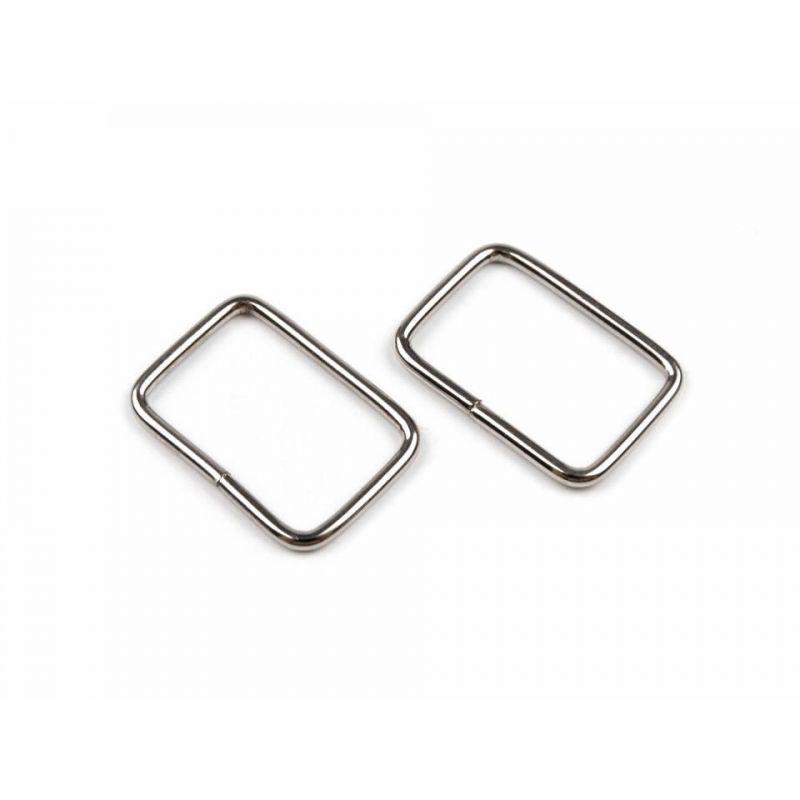 Butika.hu hobby webáruház - Bújtató, táskakapocs, 20x13mm, nikkel, 10db, 730190