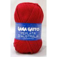 Butika.hu hobby webáruház - Lana Gatto, Perlata D'Australia kötő fonal, 100% gyapjú, 12246, piros