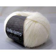 Butika.hu hobby webáruház - Lana Gatto Class kötőfonal, merinó és angora - 5229, fehér