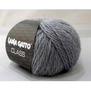 Butika.hu hobby webáruház - Lana Gatto Class kötőfonal, merinó és angora - 5234, szürke