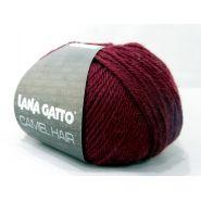 Butika.hu hobby webáruház - Lana Gatto Luxury, Camel Hair kötő fonal, extrafinom merinó és teveszőr - 5910, bordó