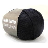 Butika.hu hobby webáruház - Lana Gatto Luxury, Camel Hair kötő fonal, extrafinom merinó és teveszőr - 10214, ultramarin