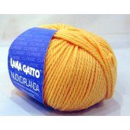 Butika.hu hobby webáruház - Lana Gatto, Nuovo Irlanda kötő fonal, 100% tiszta merinó - 2520, sárga