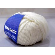 Butika.hu hobby webáruház - Lana Gatto, Nuovo Irlanda kötő fonal, 100% tiszta merinó - 8000, fehér