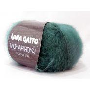 Butika.hu hobby webáruház - Lana Gatto Mohair Royal, Luxury kid mohair kötőfonal, 5896, smaragd zöld