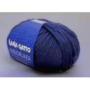 Butika.hu hobby webáruház - Lana Gatto, Nuovo Irlanda kötő fonal, 100% tiszta merinó - 1608, kék