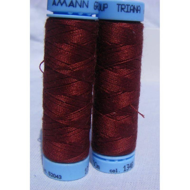 Butika.hu hobby webáruház - Pamut varrócérna Amann Triana, 100m, 1348, Rumba Red