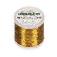 Butika.hu hobby webáruház - Metallic Madeira fémszálas hímzőcérna, No.12, 40m - Gold 33