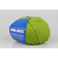 Butika.hu hobby webáruház - Lana Gatto Super Soft kötőfonal, extrafinom merinó gyapjú - 13277, zöld