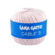 Butika.hu hobby webáruház - Lana Gatto - Cable5 kötő/horgoló fonal, egyiptomi pamut, 50g, 6587