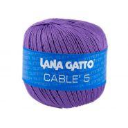 Butika.hu hobby webáruház - Lana Gatto - Cable5 kötő/horgoló fonal, egyiptomi pamut, 50g, 6591