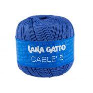 Butika.hu hobby webáruház - Lana Gatto - Cable5 kötő/horgoló fonal, egyiptomi pamut, 50g, 6597