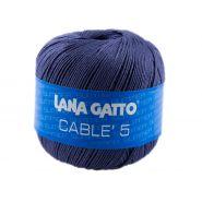 Butika.hu hobby webáruház - Lana Gatto - Cable5 kötő/horgoló fonal, egyiptomi pamut, 50g, 7835