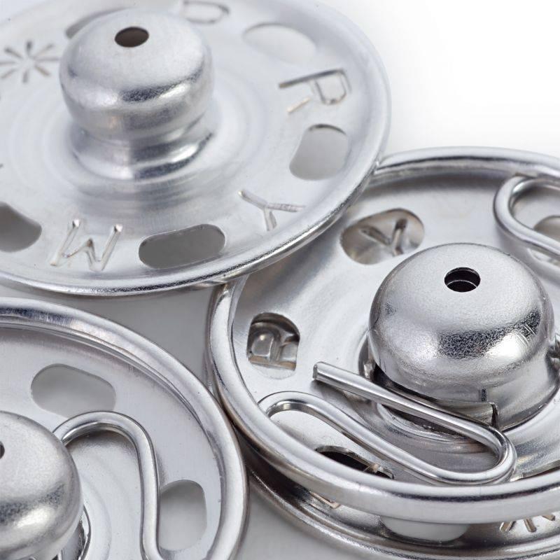 Butika.hu hobby webáruház - Prym fém patent, 9mm, 12db, 341244 - nikkel