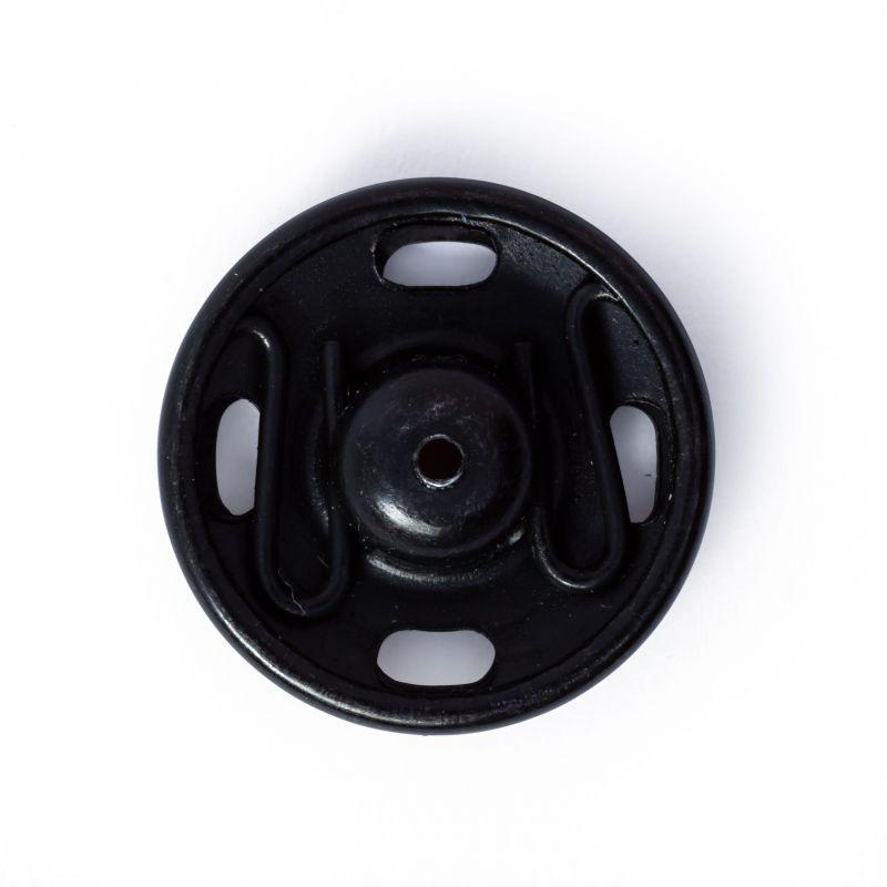 Butika.hu hobby webáruház - Prym fém patent, 15mm, 6db, 341169 - fekete