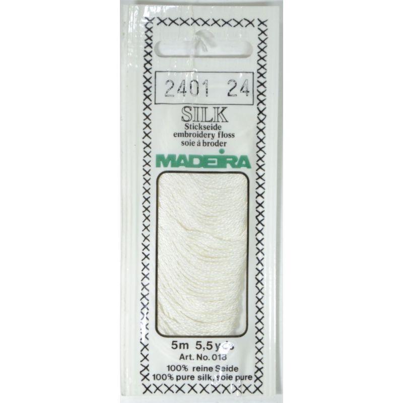 Butika.hu hobby webáruház - Silk Madeira selyem osztott hímzőcérna - 2401