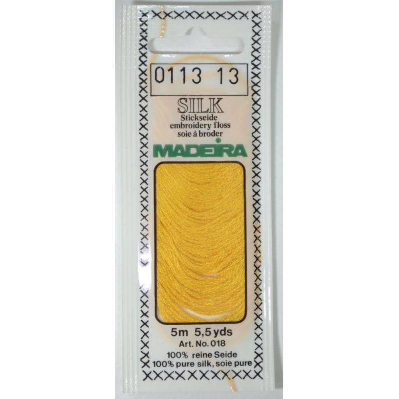 Butika.hu hobby webáruház - Silk Madeira selyem osztott hímzőcérna - 0113