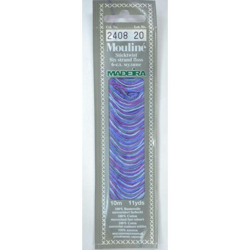 Butika.hu hobby webáruház - Madeira Mouliné pamut osztott hímzőcérna - 2408 - Deep Sea