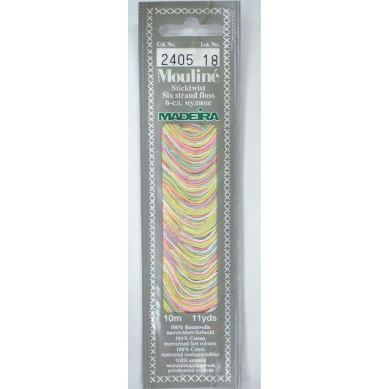 Butika.hu hobby webáruház - Madeira Mouliné pamut osztott hímzőcérna - 2405 - Light Colours