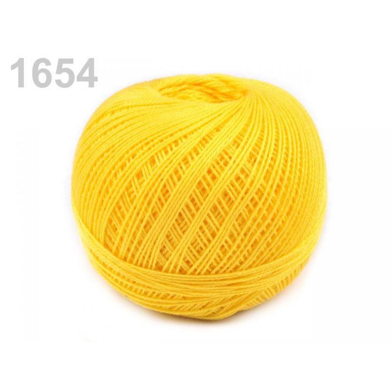 Butika.hu hobby webáruház - Nitarna horgolócérna, 100% pamut, 1654 - sárga nárcisz