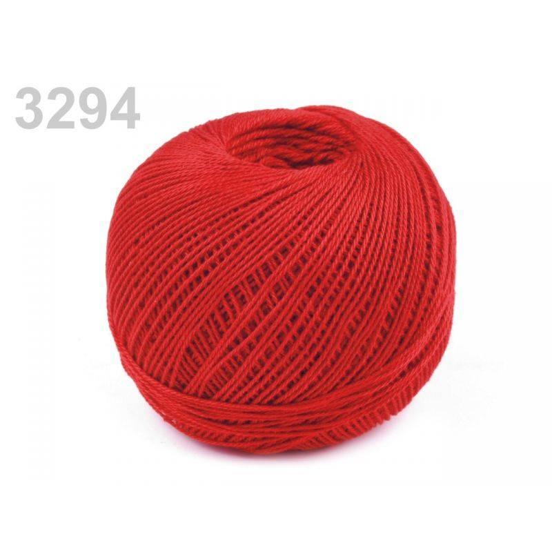 Butika.hu hobby webáruház - Nitarna horgolócérna, 100% pamut, 3294 - piros
