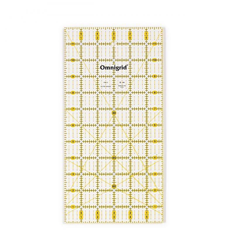 Butika.hu hobby webáruház - PRYM - Omnigrid patchwork vonalzó, 6x12 inch, 611643