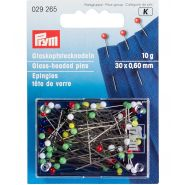Butika.hu hobby webáruház - PRYM üvegfejű gombostű, 30mm, 40db, 029139