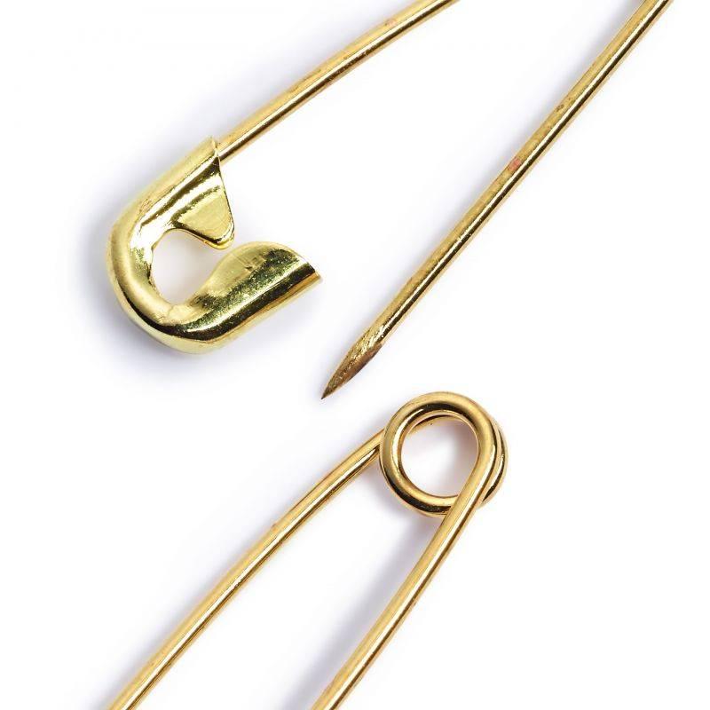 Butika.hu hobby webáruház - PRYM biztositótűk, 3 méret, arany, 071165