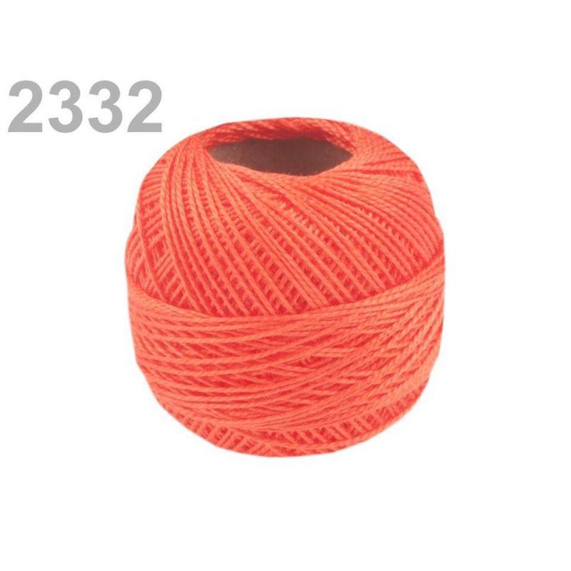 Butika.hu hobby webáruház - Hímzőcérna Cotton Perle Nitarna, Uni - 290104, 2332, fusion coral