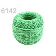 Butika.hu hobby webáruház - Hímzőcérna Cotton Perle Nitarna, Uni - 290104, 6142, poison green