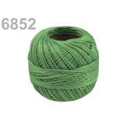 Butika.hu hobby webáruház - Hímzőcérna Cotton Perle Nitarna, Uni - 290104, 6842, jeges zöld