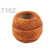 Butika.hu hobby webáruház - Hímzőcérna Cotton Perle Nitarna, uni - 290104, 7162, rudy