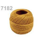 Butika.hu hobby webáruház - Hímzőcérna Cotton Perle Nitarna, uni - 290104, 7182, világos topáz