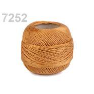 Butika.hu hobby webáruház - Hímzőcérna Cotton Perle Nitarna, uni - 290104, 7252, rozsdavörös