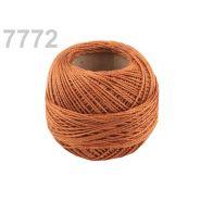 Butika.hu hobby webáruház - Hímzőcérna Cotton Perle Nitarna, uni - 290104, 7772, golden oak