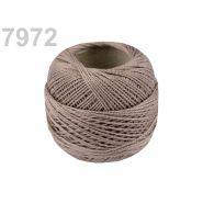 Butika.hu hobby webáruház - Hímzőcérna Cotton Perle Nitarna, uni - 290104, 7972, olive