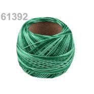 Butika.hu hobby webáruház - Hímzőcérna Cotton Perle Nitarna - policolor, 290019, 61392, emerald