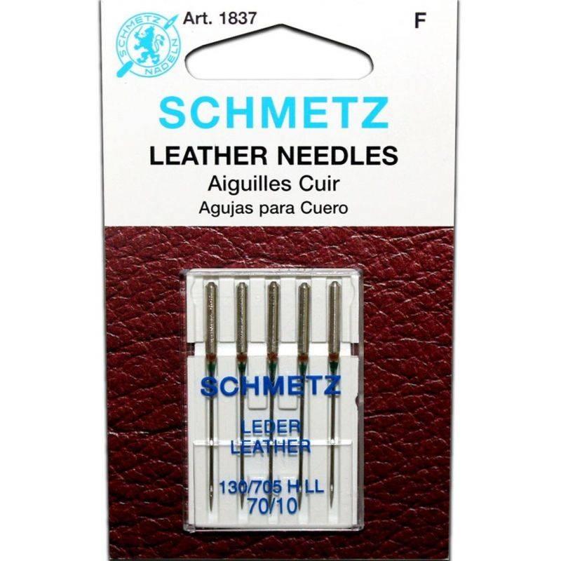 Butika.hu hobby webáruház - Schmetz Leather, bőrvarró tű, 70/10, 130/705 HLL