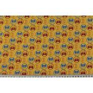 Butika.hu hobby webáruház - Patchwork pamutvászon, 110cm/0,5m - Tugger dot, Free Spirit, RH049