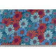 Butika.hu hobby webáruház - Patchwork pamutvászon, 110cm/0,5m - Butterflies and flowers, Free Spirit, RH047