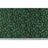 Butika.hu hobby webáruház - Karácsonyi mintás patchwork pamutvászon, 110cm/0,5m - Skipping Stones Studio, Clothworks, RH250