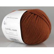 Butika.hu hobby webáruház - Lana Gatto Luxury, Camel Hair kötő fonal, extrafinom merinó és teveszőr - 8403, rozsdabarna