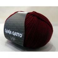 Butika.hu hobby webáruház - Lana Gatto Luxury, VIP kötő fonal, merinó és kasmir - 1012, bordó
