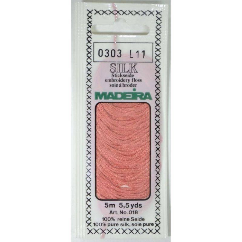Butika.hu hobby webáruház - Silk Madeira selyem osztott hímzőcérna - 0303