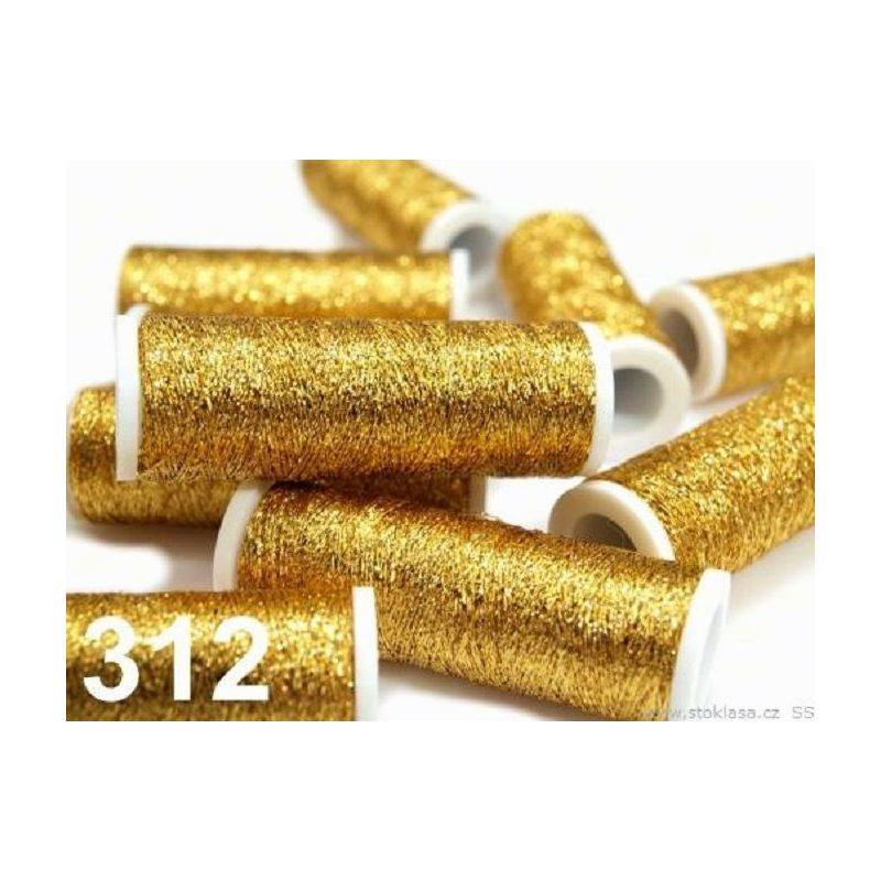 Butika.hu hobby webáruház - Metalux hímzőcérna, 60m, Artisans gold 312, 520023