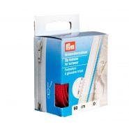 Butika.hu hobby webáruház - PRYM cipzár kötött ruhanemükbe, bontható, 60cm, piros, 478960-722
