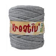 Butika.hu hobby webáruház - Kreatív pamut pólófonal, nagy gombolyag, szürke, Kreativ-436