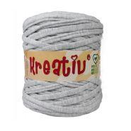 Butika.hu hobby webáruház - Kreatív pamut pólófonal, nagy gombolyag, szürke, Kreativ-439
